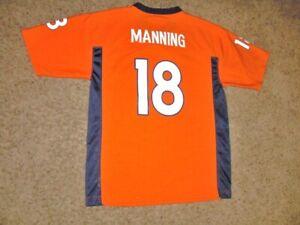 Denver Broncos PEYTON MANNING Football Jersey youth Large