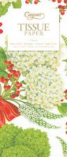Snowball Hydranger Floral Christmas Caspari Tissue Wrap 4 Sheets of 70 X 50 Cm