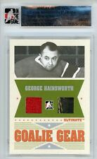 George Hainsworth Ultimate Memorabilia 6th Ed Goalie Gear Jersey Glove 6/25