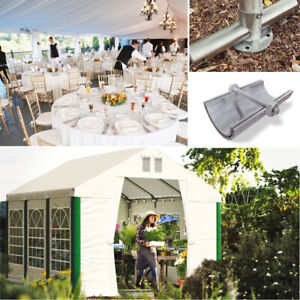 Gartenzelt 4x6 - 6x12 Pavillon BIERZELT Sommer Zelt PVC Festzelt Party