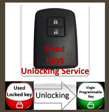 Unlocking Service For 2 Button Key Fob Remote  (Toyota Auris-Yaris )