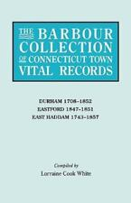 The Barbour Collection of Connecticut Town Vital Records. Volume 9: Durham 1708-