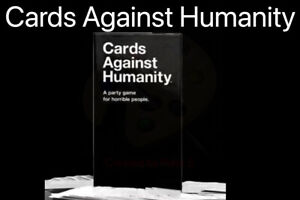 New Sealed Cards Against Humanity UK V2.0 Latest Edition 600 cards FREE POST UK