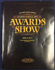 2017 Magic Castle Awards Program