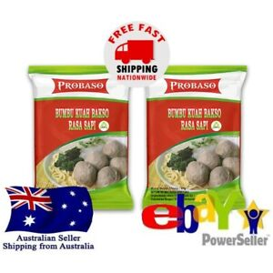 2x Probaso Bumbu Kuah Bakso Rasa Sapi 65g Beef Meatball Soup Flavour Halal