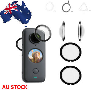 Reusable Panoramic Lens Protector Lens Guard Set for Insta360 ONE X2 Accessories