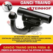 Gancio traino Fiat Seicento dal 1998 al 2010