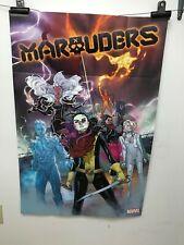 Marvel Marauders 2019 Comic Book Store Promo Art POSTER 24 x 36