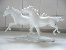 Kaiser Porcelain gloss glaze Wild Horses signed G Bochmann