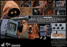 Hot Toys Jawa & EG-6 Power Droid Star Wars 1/6 Scale Figure Set Sideshow MMS554