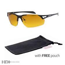 HD Driving Metal Aviator SunGlasses Blue Blocker High Definition Black POUCH x