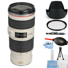 Canon EF 70-200mm f/4L IS USM Lens STARTER BUNDLE BRAND NEW