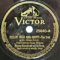 Benny Goodman: Feelin' High And Happy / I Let A Song Go Out Of My Heart: 1938