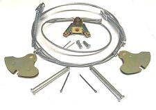 CLASSIC MINI COMPLETE HANDBRAKE KIT INC. CABLES,PINS,QUADRANTS,BRACKET ETC 3N8