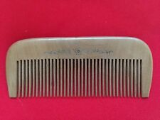 4.8 STURDY MEDIUM TOOTHED CHERRY WOOD COMB W/LITTLE FLOWERS-FOR ALL HAIR TYPES!