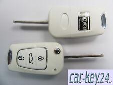 Hyundai i10 i20 ix20 i30 ix35 i40 CW ix55 Klappschlüssel Fernbedienung 3T Weiß
