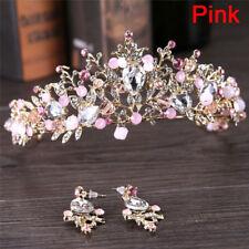 Pearl Bridal Crowns Handmade Tiara Bride Headband Crystal Wedding Queen Crown'''