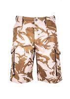 British Army Desert Shorts Camo Grade 1 Camouflage Lightweight Military Surplus