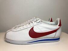 Zapatos Nike Classic Cortez Premium elusiva Reino Unido 8.5 EUR 43 Blanco 807480 164