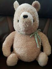 "Classic Winnie the Pooh Stuffed Plush 18"" Nursery Decor Bear 2004 Disney"