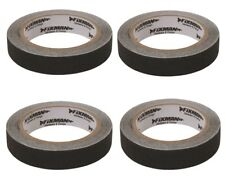 4x Black Anti-slip Tapes 24mm X 5m High Grip Adhesive Skid Reduce Steps Decking