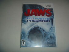 Jaws Ultimate Predator (2011) Nintendo Wii Complete Game Good Condition