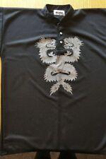 Mens Lareto black 2 dragon top 45/46in chest