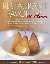 Restaurant Favorites at Home (Best Recipe), , 0936184671, Book, Acceptable