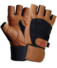Valeo Ocelot Premium Wrist Wrap Weightlifting Gloves Super Soft Leather Medium