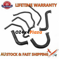Black Silicone Radiator Hose For 2002 2003 2004 Holden Commodore VY V8 5.7L LS1