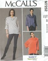 McCall's 7252 Misses' Tops   Sewing Pattern