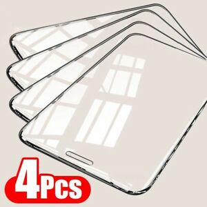 4pcs Tempered Glass Full Cover Screen Protector iPhone 13 12 11 Pro Max XS XR