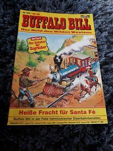 BUFFALO BILL #582 Heisse Fracht für Santa Fe, BASTEI Western-Comic (1981)