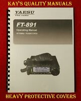 High Quality ~ Yaesu FT-891 Operating Manual ****C-MY OTHER MANUALS****