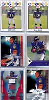 RAY RICE - 2008 Rookie Lot (6 pc) - Certified Auto /250. Upper Deck, UD 1st, SP