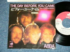 """ABBA Japan 1982 7""""45+PS THE DAY BEFORE YOU CAME"""