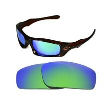 Nuevo Polarizado Custom Verde Lente Para Oakley Monster Pup Sunglasses