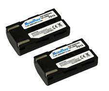 BATTERY x 2 for Samsung SB-LSM80 SB-LSM160 SB-LSM320 Camera TWO BATTERIES