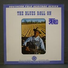 Alan Lomax Southern Folk Series The Blues Roll On Atlantic 1352 Stereo Insert