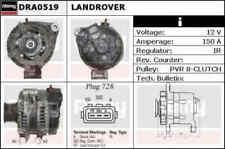 Alternator for Land Rover Range Rover TDV8 368DT 3.6 L322 10/06-4/11 DRA0519