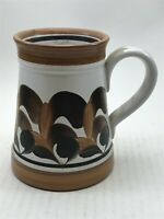 Vintage Denby Pottery Hand Painted Mug Collectable <CA03