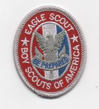 Eagle Scout Oval Rank Patch, Type 13-A1, Since 1910 Backing (2013+), Mint!