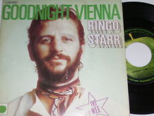 "7"" - Ringo Starr (Beatles) Goodnight Vienna & Oo Wee - France 1975 # 2254"