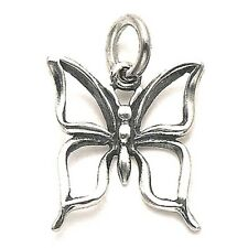 Pendant with Chain Sterling Silver Cutout Butterfly