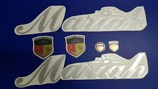 """Mariah boats Emblem 28"""" chrome + FREE FAST delivery DHL express - raised decal"""