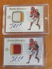 JAMAAL CHARLES 2008 SP Authentic Autograph Jersey (CHIEFS TEXAS AUTO RC) #d /999