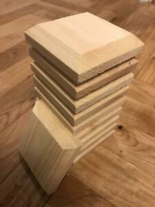 """10 Fence Post Caps 4"""" x 4"""" (95mm x 95mm) To Suit 3"""" Posts."""