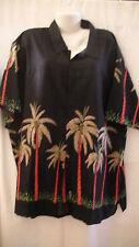 MENS AZZURO SHIRT 4XL (O95)HAWAIIAN LOOK