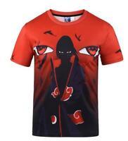 New Fashion Womens/Mens Naruto Mangekyo Funny 3D Print T-Shirt Summer Tops