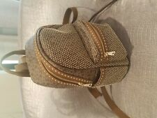 DNKY Women's Stud Logo backpack (brown and gold) - used only once!